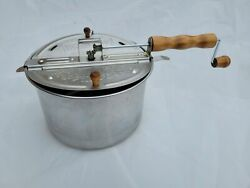 Wabash Valley Farms Whirley Pop Popcorn Popper 6-qt