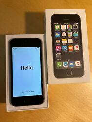 Mint Apple Iphone 5s 16gb Space Gray - A1533 - Verizon - Needs New Battery