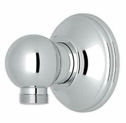 Rohl 1295apc Hand Shower Wall Outlet, Polished Chrome