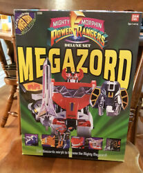 Mighty Morphin Power Rangers Megazord Deluxe Set New In Box Vintage1993 Bandai