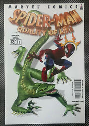 Spiderman Quality Of Life 1 9.8 1st Yith Appearance Andjayleno Story 2002