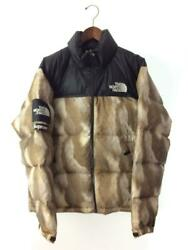 Supreme M Polyester Beg Beige Polyester Fashion Jacket 10742 From Japan