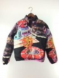 Supreme 18fw Casino Down S Cotton Multi-color Cuff Dirt  Jacket From Japan