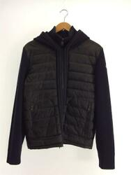 Moncler Maglione Tricot Cardigan M Wool Hanger Included Navy Wool Jacket