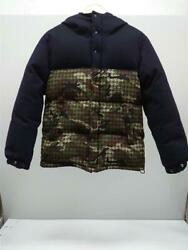 Mr. Gentleman M Wool Blue Camoufra Mg14f-co13 Houndstooth Camo Down Wool