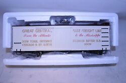 Bachmann G Scale 93364 New York Central Fast Freight Box Car