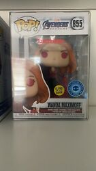 Avengers Endgame Wanda Maximoff Scarlet Witch Gitd With Protector In Hand