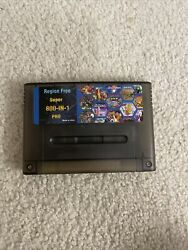 Super 800 In 1 Pro Remix Game Card For Snes 16 Bit Video Game Consoles Cartridge