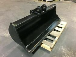 New 48 Ditch Bucket For A Takeuchi Tb007