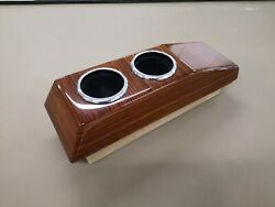 Mercedes W124 Cup Holder C124 Coupe Zebrano Similar W124 Cassette Box