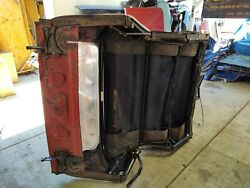 1965 Ford Thunderbird Convertible Roof Frame And Package Tray Panel.
