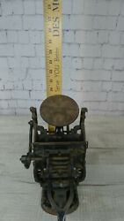 Antique Kelsey Letterpress Printing Press Table Top With Books Very Old And Cool