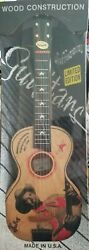 """New Vintage 1998 Limited Edition Gene Autry 28"""" Wooden Guitar - Made In Usa"""