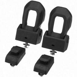 Front Pair Left And Right Hood Latch Catch Bracket For Jeep Wrangler Jl 2007-2021