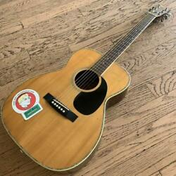 Morris F-18 Acoustic Guitar 1975 From Japan Vintage Rare Used Good