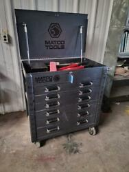 Matco Tools 35 6-drawer Rolling Tool Box - Silver Vein