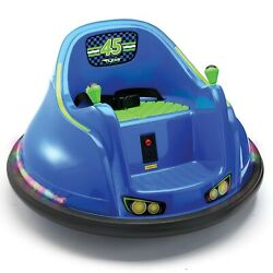 Flybar 6 Volt Battery Powered Kids Bumper Car With Led Lights Battery And Charger