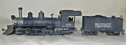 Sn3 Brass Pacific Fast Mail Rgs K-27 455 Pro Painted Weathered Atw