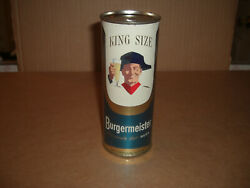 1958 Burgermeister King Size 15 Oz. Beer Can Flat Top