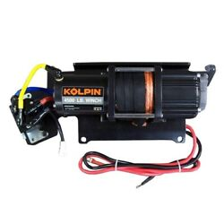 Polaris Ranger Quick-mount Winch 4500 Lb Synthetic Rope By Kolpin Outdoors
