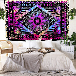 FabQual Large Tapestry under 10 Dollars Indie Tapestry Hippie Spiritual Tapest