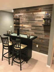 Real Weathered Wood Planks For Walls - Rustic Reclaimed Barn Wood Paneling For A