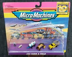 Micro Machines 33 Farm And Field Collection Vehicle Set Galoob Vintage 1996 Vhtf