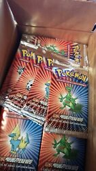 X1 Sealed Booster Pokemon Vintage Ex Ruby And Sapphire Spanish 2003 - Us Seller