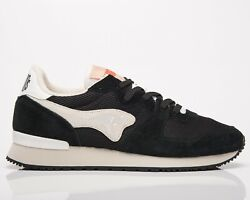Kangaroos Aussie Ying And Yang Menand039s Jet Black White Low Lifestyle Sneakers Shoes