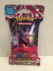 Pokemon Tcg Xy Phantom Forces Sleeved Booster Pack - Sealed