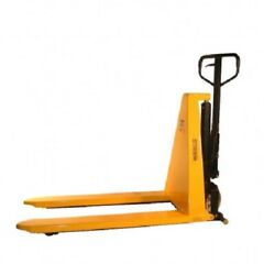 New Wesco Non-telescoping Manual High Lift Pallet Truck 2200 Lb. 27forks