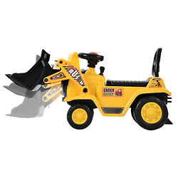 Kids Ride On Bulldozer Cars Boys Construction Outdoor Digger Tractor Truck Home