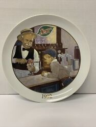 Vtg 90s National Dairy Products Corp Ltd Edition Breyers Ice Cream 125th Plate