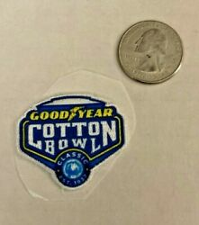 1.5 Good Year Cotton Bowl Patch Sticky Back Very Rare