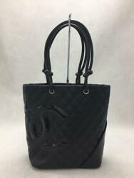 Leather A25167 Cambon Line Midiam Tote Fashion Bag 536 From Japan