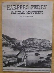 Harpers Ferry National Monument. West Virginia 1963 Brochure
