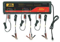 Autometer Buspro-660 6 Station Charger, 5 Amps/station, 120v, Agm