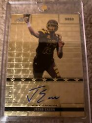 Jacob Eason 2016 Leaf Metal Army All American Auto Superfractor 1/1 Colts Rc