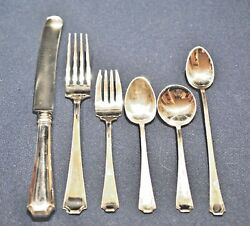 Fairfax Sterling Flatware Set For 4 By 4 Gorham/durgin Buy 4 8 Or 12 Setting