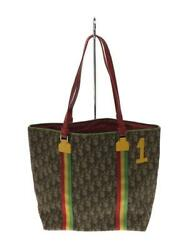 Christian Dior 1-ma-0044 Trotter Raster Color Number Luxury Fashion Tote Bag
