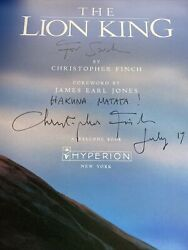 The Art Of The Lion King 1994 Signed Finch 1st Hardback Dust Jacket