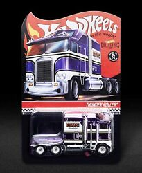 2021 Hot Wheels Rlc Exclusive Purple Thunder Roller Preorder