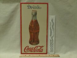 Drink Coca-cola 1915 Coke Bottle-reproduction Metal Advertising Sign 16 X 81/
