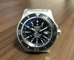 Auth Breitling Watch Superocean Ii Automatic Case 44mm Wr 1000m Chronograph F/s
