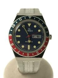 Timex Tw2t80700 38mm Q Reissue Pepsicolor 1976 Reprint Wrist Watch From Japan