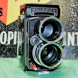 Rolleiflex Tele Professional Tlr Camera Refurbished User Condition Working Order
