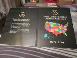 50 Fifty State Quarters, Complete High Grade In Folder Pre-atb National Park