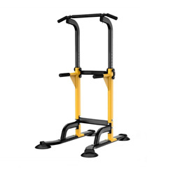 Pull Up Bar Station Power Tower Dip Station Durable Multi Function Push Up Stand