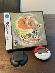 Pokemon Heart Gold Ds 3ds Usa English Official Authentic With Pokewalker Tested