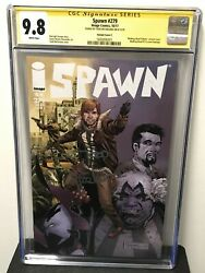 Spawn 279 Cgc 9.8 Variant Cover C Walking Dead 115 Homage Low Print Run Signed